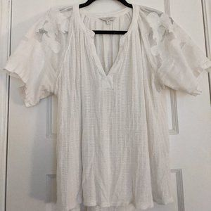 Lucky Brand White Blouse - M